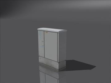 hranilica stub 3d model 3ds max obj 108388