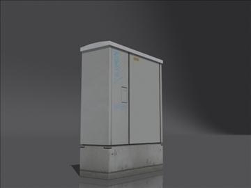hranilica stub 3d model 3ds max obj 108389