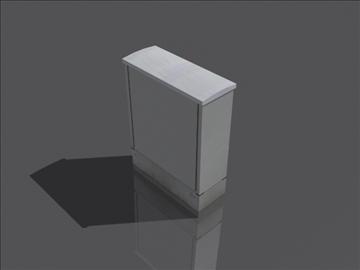 hranilica stub 3d model 3ds max obj 108390