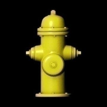 hidrant 3d model ma mb 82297
