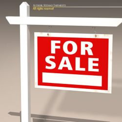 For Sale Sign Real Estate ( 68.95KB jpg by tartino )