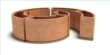 безкрайна ваза 3d модел 3ds max fbx obj 90081