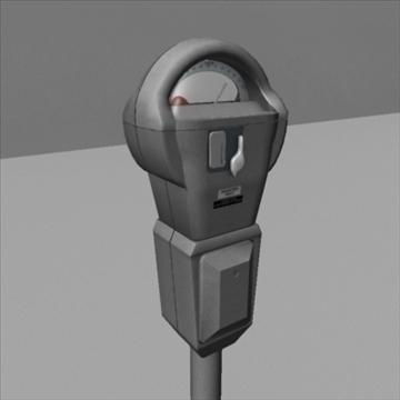 parking meter 3d model ma mb 82543