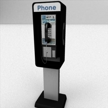 payphone 3d model ma mb 82400