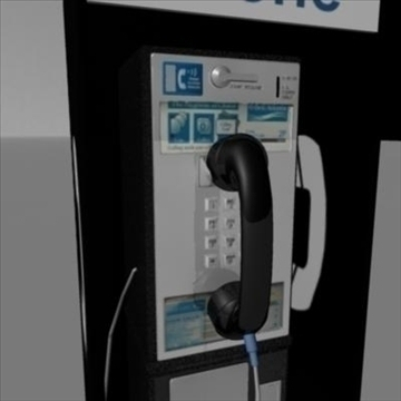 payphone 3d model ma mb 82401