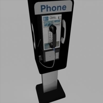 payphone 3d model ma mb 82402