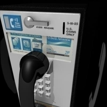payphone 3d model ma mb 82403