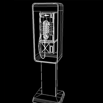 payphone 3d model ma mb 82404