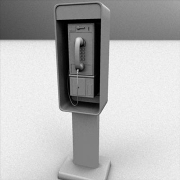 payphone 3d model ma mb 82405