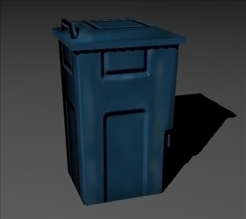 recycle bin 3d model fbx x tga targa icb vda vst pix obj other 97594