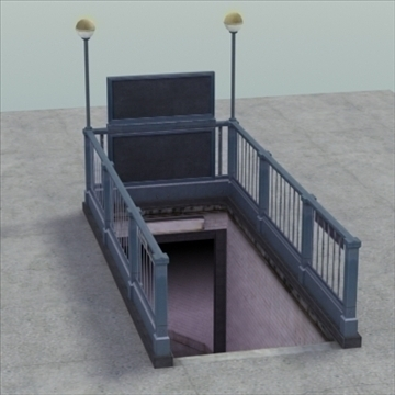 subwayentrance_ 3d model 3ds max fbx lwo ma mb other hrc xsi obj 104156