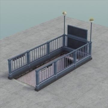 subwayentrance_ 3d model 3ds max fbx lwo ma mb other hrc xsi obj 104157