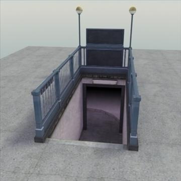 subwayentrance_ 3d model 3ds max fbx lwo ma mb other hrc xsi obj 104160