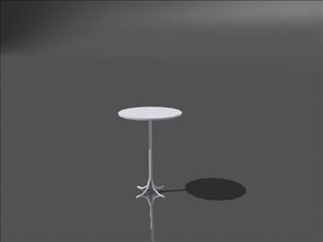 table b 3d model 3ds max obj 108403