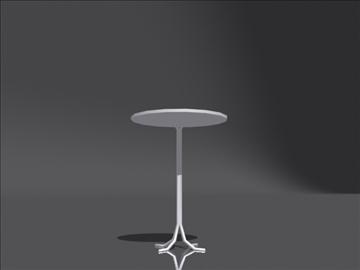 table b 3d model 3ds max obj 108404
