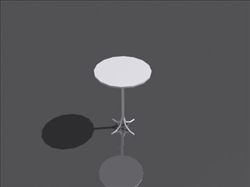 table b 3d model 3ds max obj 108405