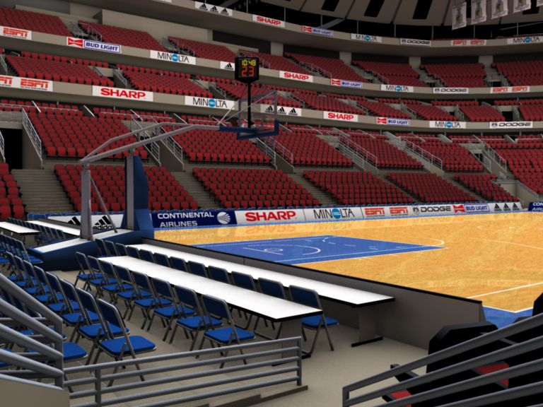 basketball arena with detailes 3d model 3ds max fbx c4d lwo ma mb obj 160010