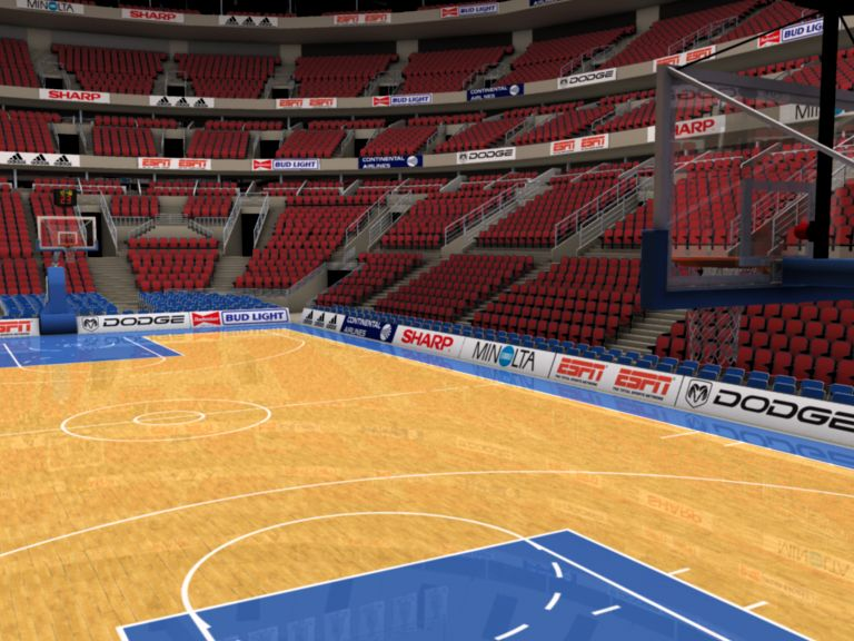 basketball arena with detailes 3d model 3ds max fbx c4d lwo ma mb obj 160011