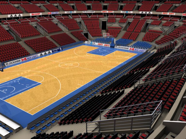 basketball arena with detailes 3d model 3ds max fbx c4d lwo ma mb obj 160012