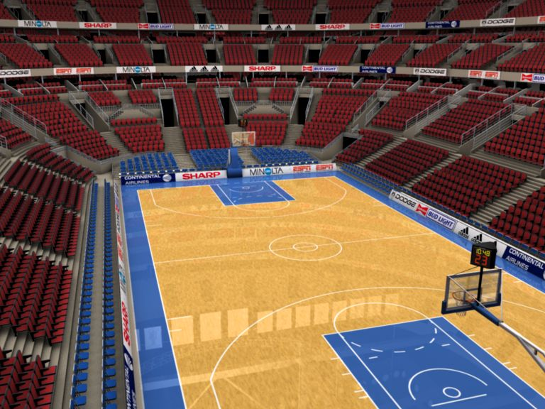 basketball arena with detailes 3d model 3ds max fbx c4d lwo ma mb obj 160014