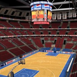 Basketball Arena ( 331.5KB jpg by Behr_Bros. )