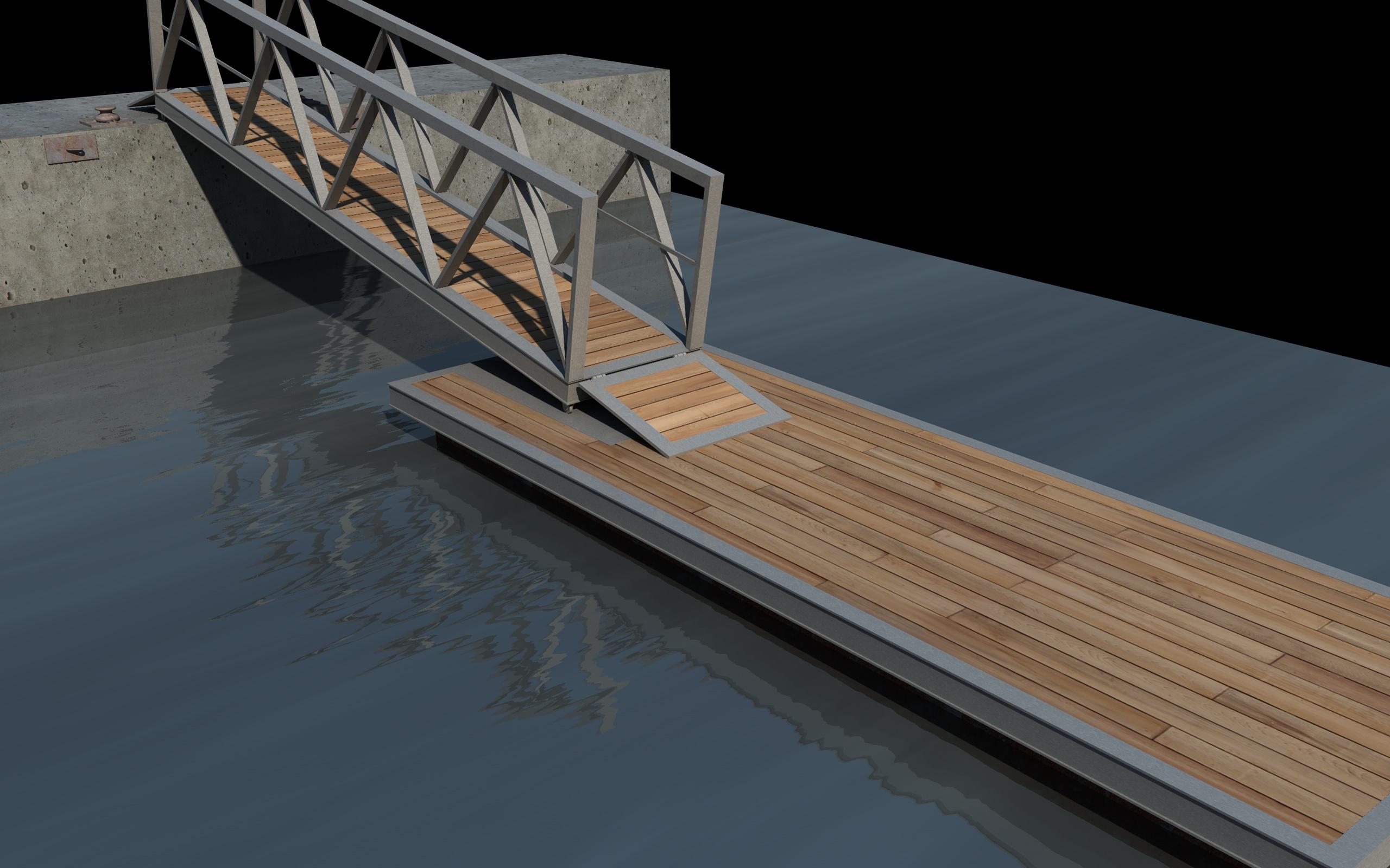 bangka pier dock 3d modelo 3ds dxf fbx c4d skp obj 148406