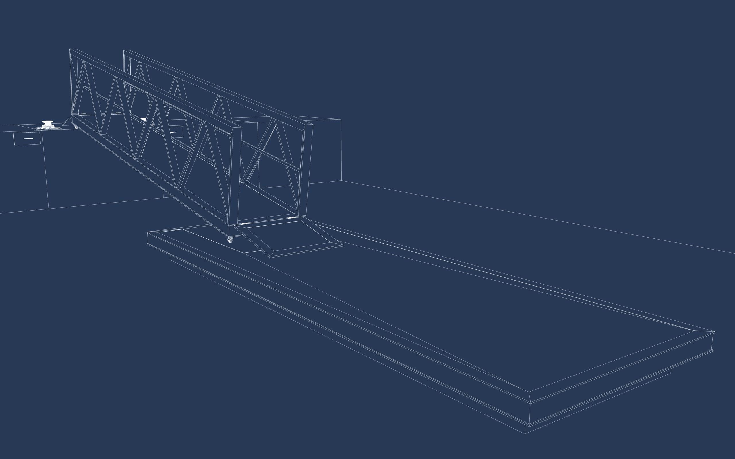 boat pier dock 3d model 3ds dxf fbx c4d skp obj 148410