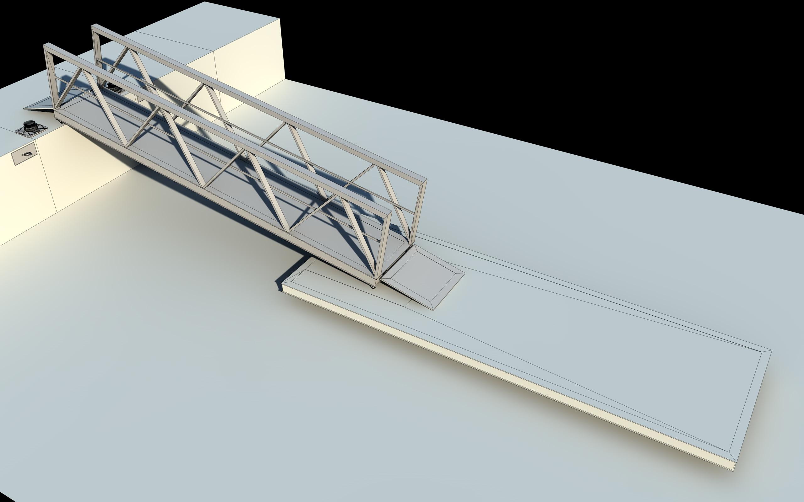 boat pier dock 3d model 3ds dxf fbx c4d skp obj 148411