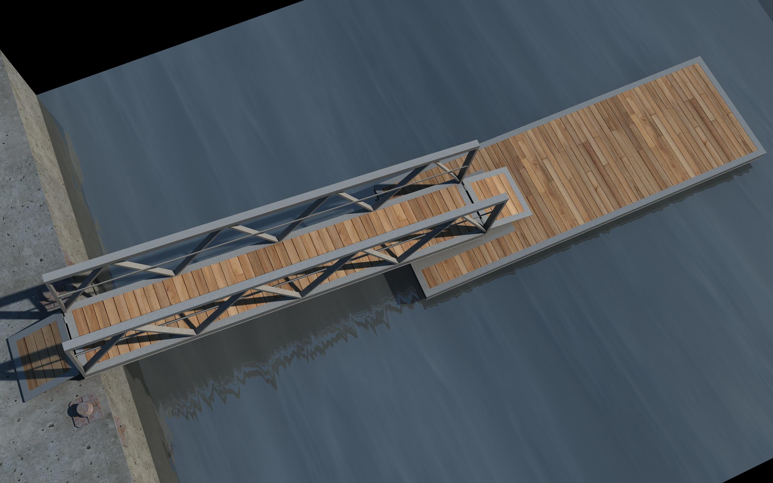 boat pier dock 3d model 3ds dxf fbx c4d skp obj 148412