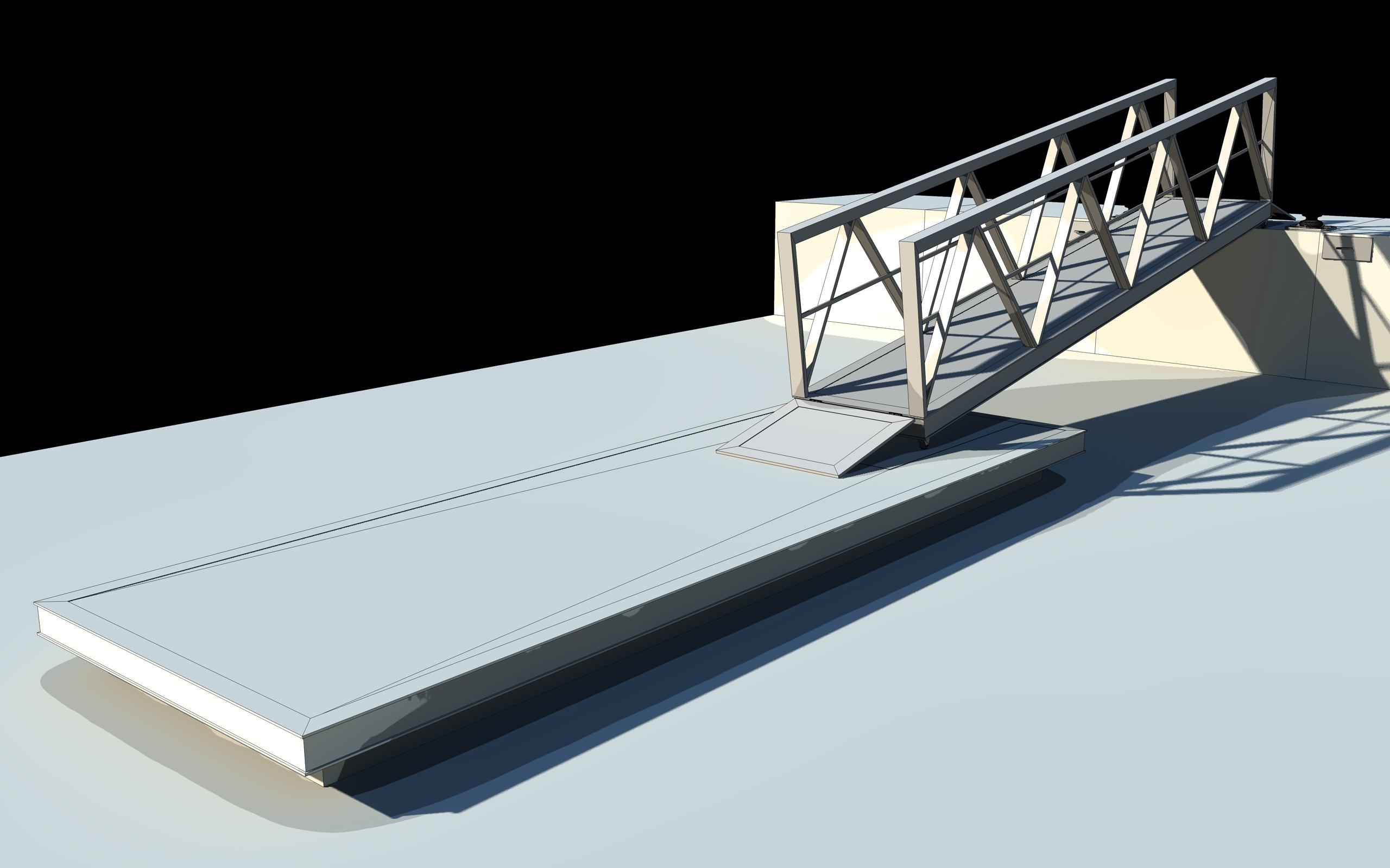 boat pier dock 3d model 3ds dxf fbx c4d skp obj 148414