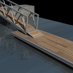 Boat Pier Dock 3D Model ( 708.75KB jpg by Souto )