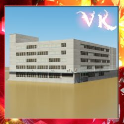 Photorealistic Low Poly Office Building 2 ( 269.75KB jpg by VKModels )
