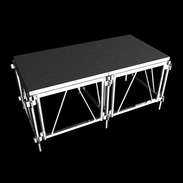 stage floor platform 3d model 3ds max fbx obj 131104