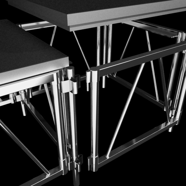 stage floor platform 3d model 3ds max fbx obj 131107