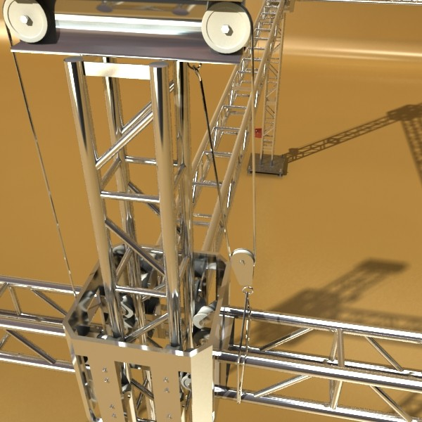 truss system high detail 2.0 3d model max fbx obj 131008