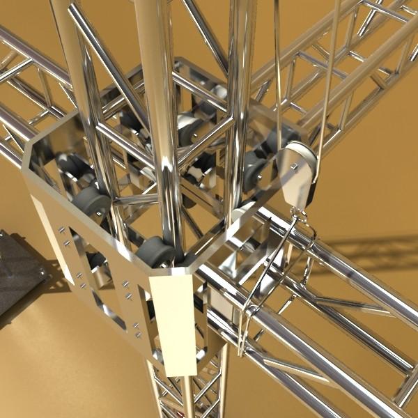 truss system high detail 2.0 3d model max fbx obj 131009
