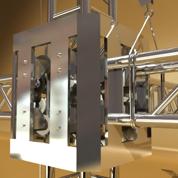 truss system high detail 2.0 3d model max fbx obj 131010