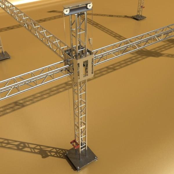 truss system high detail 2.0 3d model max fbx obj 131011