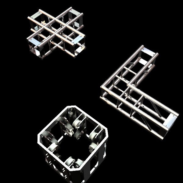 truss system high detail 2.0 3d model max fbx obj 131018