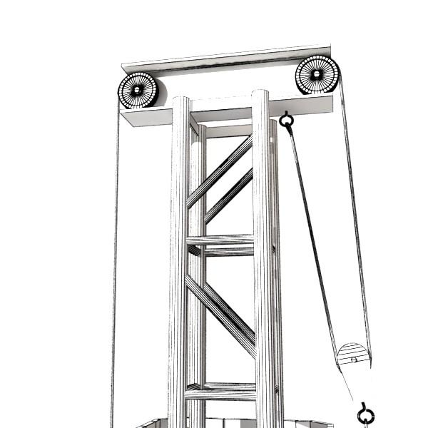 truss system high detail 2.0 3d model max fbx obj 131026