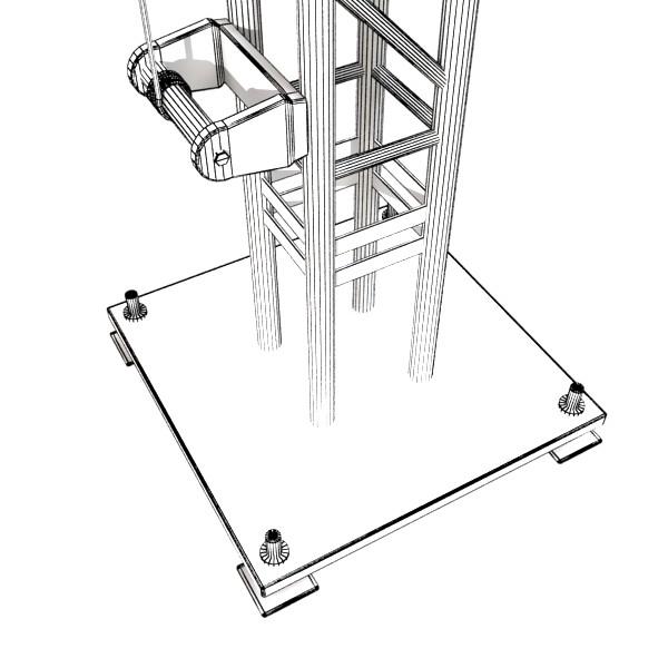 truss system high detail 2.0 3d model max fbx obj 131028