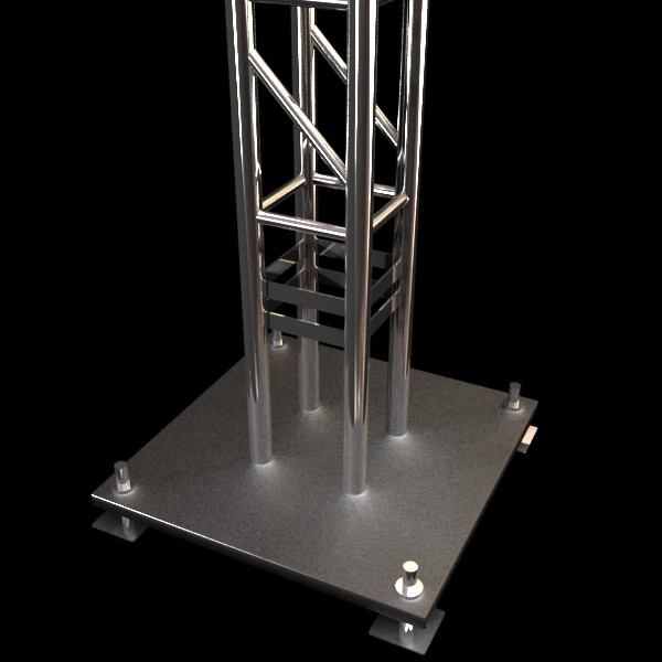 truss system high detail 2.0 3d model max fbx obj 131031