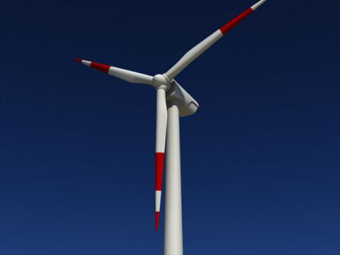 wind turbine land 3d model 3ds max lwo obj 158801