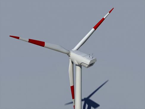 wind turbine land 3d model 3ds max lwo obj 158802