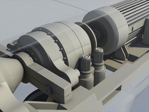 wind turbine land 3d model 3ds max lwo obj 158806