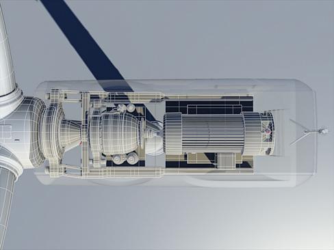 wind turbine land 3d model 3ds max lwo obj 158814