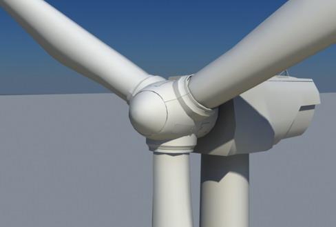 vēja turbīnu zeme reālā laikā 3d modelis 3ds max c4d lwo ma mb obj 158819