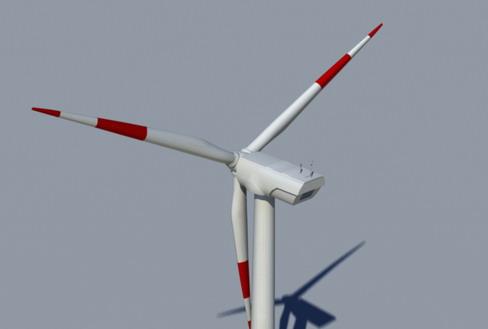 vēja turbīnu zeme reālā laikā 3d modelis 3ds max c4d lwo ma mb obj 158822