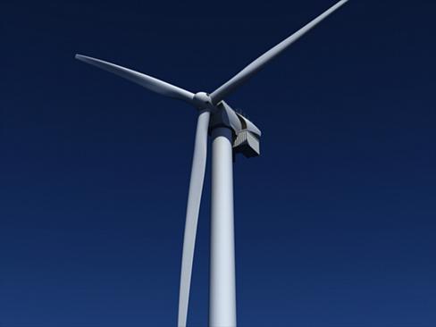 wind turbine offshore 3d model 3ds max lwo obj 158835