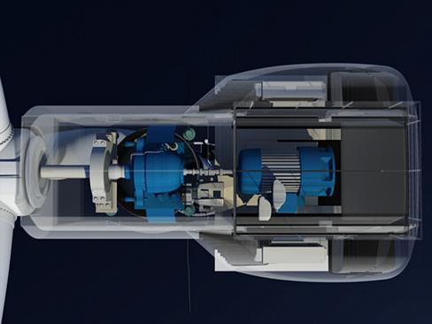 wind turbine offshore 3d model 3ds max lwo obj 158838